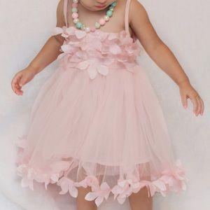 "Other - 💗Beautiful ""Taylor"" Pink Petal Dress-Size 2T💗"